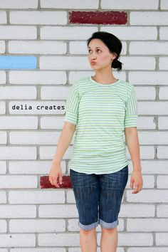 delia creates: Seafarer Top Pattern Review