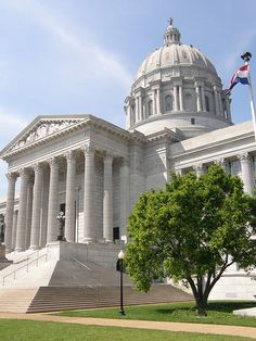 Missouri State Capitol, Jefferson City, Missouri by jimbowen0306