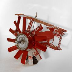Coca-Cola Airplane now featured on Fab. I have to learn how to make these!!!