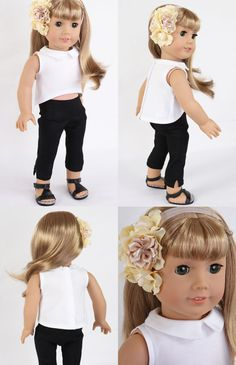 Handmade to fit like American Girl Doll Clothes by ModernDollWorld
