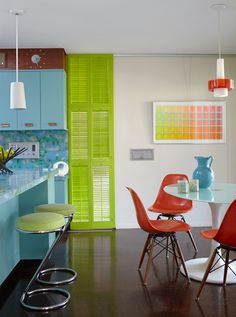 cheer-inducing colour collage / photo by David Patterson - desiretoinspire.net