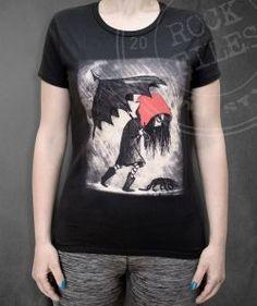 Czerwony Kapturek - Rock-files - koszulki