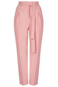 Belted Crepe Peg Trousers - New In- Topshop Legging Outfits, Pants Outfit, Classy Outfits, Pretty Outfits, Fashion Pants, Fashion Dresses, Peg Trousers, Palazzo Trousers, Wrap Pants