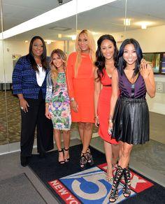Adrienne Bailon, Tamera Mowry-Housley, Jeannie Mai, Loni Love, and Tamar Braxton