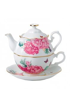 Miranda Kerr for Royal Albert Friendship Tea For One.  At Waterford Wedgwood Royal Doulton, Tanger Outlets, San Marcos, TX or call 1-800-203-4540 or 512-396-4025.  We ship.