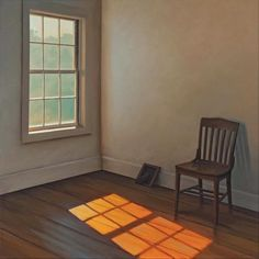 Paintings of absence and melancholy (I) – Chairs and windows by Jim Holland Edward Hopper, Design Patio, Library Chair, Through The Window, American Artists, Windows And Doors, Artist At Work, Illustration Art, Illustrations