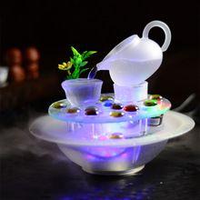 Feng Shui fonte de água bules define fountain home office decoração presentes de ano novo(China (Mainland))