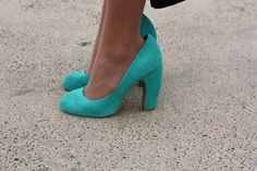 minty graduation shoes from @Urban Outfitters