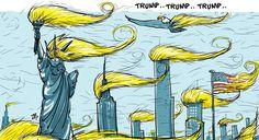 Cartoonists Overseas Take on Donald Trump - POLITICO Magazine