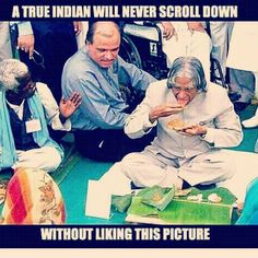 This is APJ for you #apj #president #missile #man #india #indian #love #simplicity #