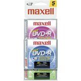 Maxell Dvd-R Cam Disc 5Pack - Model#: 567639 by Maxell. $4.99