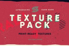 Vector Texture Pack vol.1 by Petr Knoll on @creativemarket
