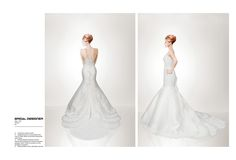"Check out my @Behance project: ""Bridal gowns.""…"