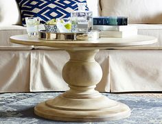 Piero 36 Quot Round Coffee Table Fro Arhaus For The Sunroom