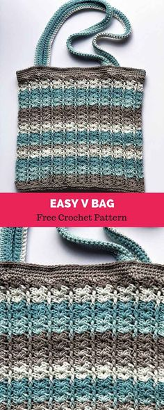 Watch This Video Beauteous Finished Make Crochet Look Like Knitting (the Waistcoat Stitch) Ideas. Amazing Make Crochet Look Like Knitting (the Waistcoat Stitch) Ideas. Crochet Market Bag, Crochet Tote, Crochet Handbags, Crochet Purses, Crochet Gifts, Free Crochet Bag, Crocheted Bags, Blanket Crochet, Afghan Crochet Patterns