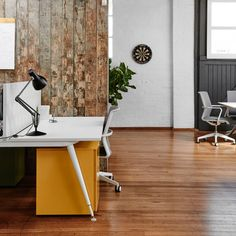 Jet Black Anglepoise® Type 75™ Desk Lamps at Metrix Consulting, Melbourne.