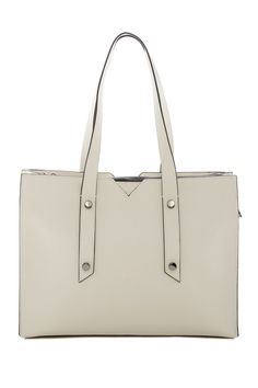 Murray Hill Leather East West Tote
