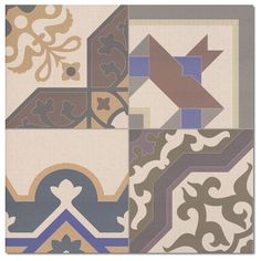 Kolekcja Patchwork - płytki podłogowe Patchwork 44x44