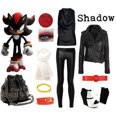Shadow the Hedgehog - Polyvor another cool idea for Halloween next year!!