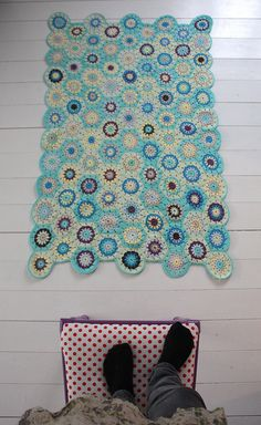 amazing crochet-would love to do this someday for bathroom rug. Maybe I'll do it using cut up and then crocheted teeshirts