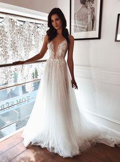 All the feels 💗ALEX #TomSebastien #TSBride #GlamRomantic Stunning Wedding Dresses, New Wedding Dresses, Event Dresses, Cheap Wedding Dress, Bridal Dresses, Bridal Beauty, Custom Dresses, Bridal Looks, Beautiful Bride