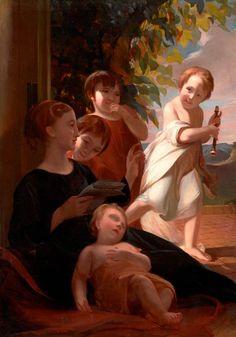 The Sully Children, Thomas Sully, 1822–1824, Gift of Mrs. O. Max Gardner