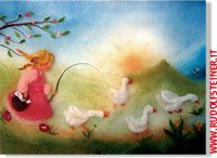 - Fiabe - Set di 10 cartoline di Franziska Sertori-Kopp - - Lanakarten - Rudolfsteiner.it - Shop
