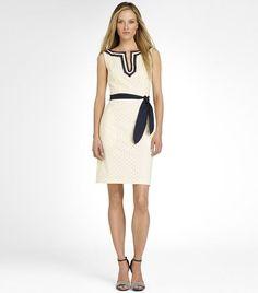 Classic look, good summer work dress: Tory Burch Sheldon Dress
