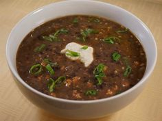Black Bean Soup Recipe from miraclerecipes.com!