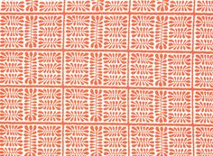 """Dancing Matisse in Coral from Old World Weavers/Stark"""