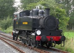 USATC S100 Class is a 0-6-0 steam locomotive that was designed for switching (shunting) duties in Europe and North Africa during World War II. Former Southern Railway USA class #65 preserved at the Kent and East Sussex Railway.