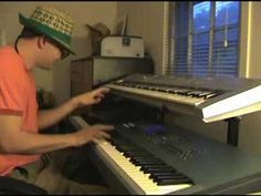 """That crazy kid """"Ronald Jenkees"""" turning on the power and just goin' off on the keys."""