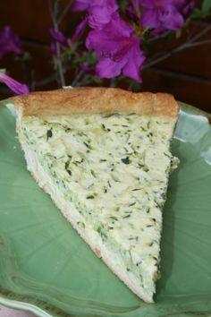 Tarte à la courgette et au fromage