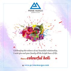 Let the colors of Holi spread happiness, gaeity, peace and love all around. Wish you a blessed Holi! Pvc Pipe, Peace And Love, Holi, Blessed, Happiness, Colours, Plants, Bonheur, Holi Celebration