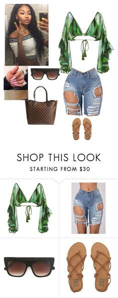 """""""Missing summer"""" by blvckxice ❤ liked on Polyvore featuring Água de Coco, STELLA McCARTNEY, Billabong and Louis Vuitton"""