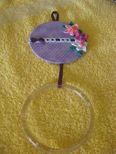 Porta toalha de rosto/lavabo -Com CD usado
