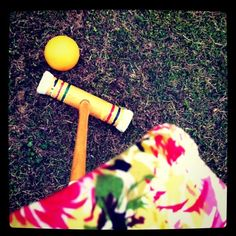 Croquet, official game of CaMp T