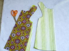 how to sew a reversible dress