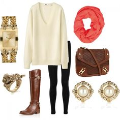 in preparation for fall #oversized #sweater #fall #outfit #ootd #watch #ridingboots #socialblissstyle