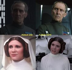 Tarkin and Leia