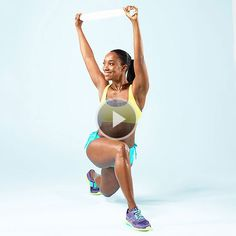 Your Better Body Plan Workout: Lunge Twist exercise Fitness Goals, Fitness Tips, Fitness Motivation, Health Fitness, Fitness Quotes, Fitness Magazine, Loose Weight, Body Weight, Nice Body