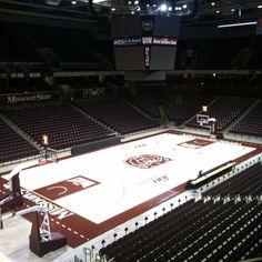 JQH Arena, Missouri State University, Springfield, MO