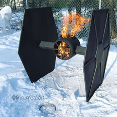 outdoor deck fire pit – consider our choices! Fire Pit Gravel, Deck Fire Pit, Metal Fire Pit, Fire Pits, Metal Projects, Welding Projects, Welding Ideas, Steampunk Furniture, Metal Furniture