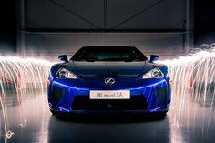 #Lexus LFA celebrates birthday with epic photoshoot. #sportscar #performance #luxury