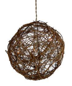Another great find on #zulily! Grapevine Ball Chandelier #zulilyfinds