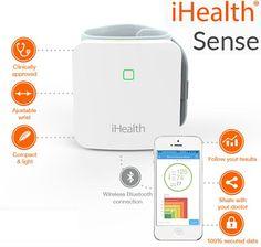 ¡Chollo! Tensiómetro iHealth Sense BP7 Wireless por 35.99 euros.
