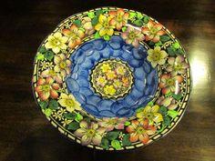 Maling Clematis Pattern Large Bowl / Dish c.1930s English Pottery, Large Bowl, Clematis, 1930s, Decorative Plates, Dishes, Tableware, Pattern, Ebay
