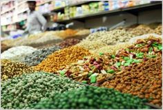 The Spice Souk in Dubai will have your nose tingling with the array of spices available. They're tantalizing!