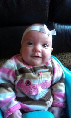 Look at these cheeks! Addie 4/2/14