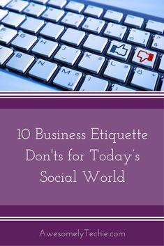 10 business etiquett